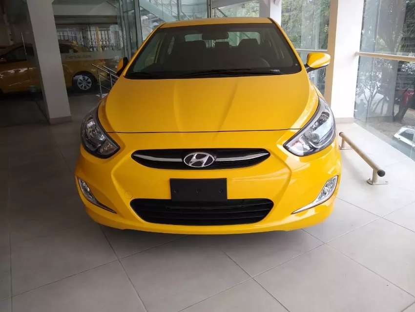 Taxi HYUNDAI Accent i25 M2020 4 puertas 0