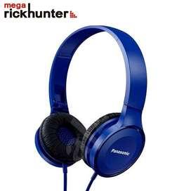 Audifonos Panasonic powerful sound Rphf100e azul