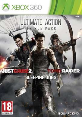 ULTIMATE ACTION TRIPLE MPACK XBOX 360.