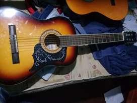 Guitarra acustica Vizcaya cuerdas de acero