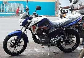 Moto Dukare Dk150cc Titan modelo deportivo ni un mes de uso. Negociable o cambio  por algo de mininteres