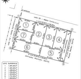 Loteo Nuevo a mitad de precio, terrenos desde 1.000 mts2