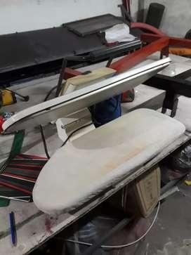 Plancha semi industrial textil