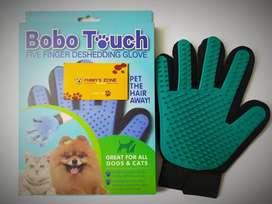Guante masajeador cepillo perros, gatos