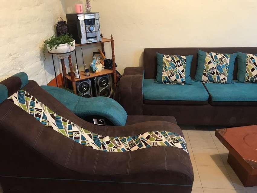 Vendo muebles color turquesa 0