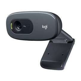 Webcam Logitech C270 - 1280x720 Usb 2.0 3mp Black Plug And Pla