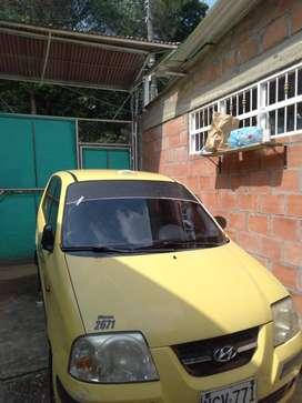 VENTA TAXI ATOS HYUNDi modelo 2012 con cupo