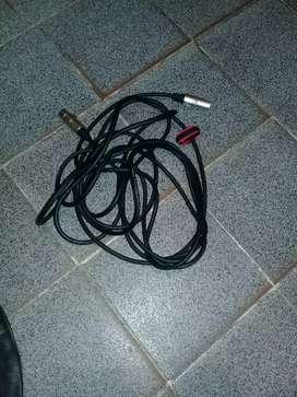 Vendo cable para microfeno