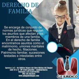 ASESORIA JURIDICA EN DERECHO DE FAMILIA