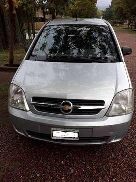 Vendo Chevrolet Meriva 1.8 GL 2008. Nafta con Tubo GNC Grande (60 Lts)