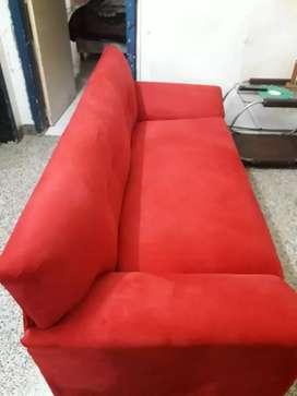 Vendo sillón de 2 cuerpos Pana