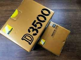 Nikon d3500 con lente 18 - 55