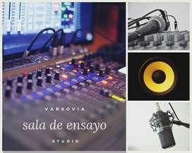 Sala de ensayo - Estudio de grabación