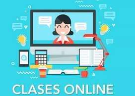 Clases virtuales para escuela, colegio y universidad.