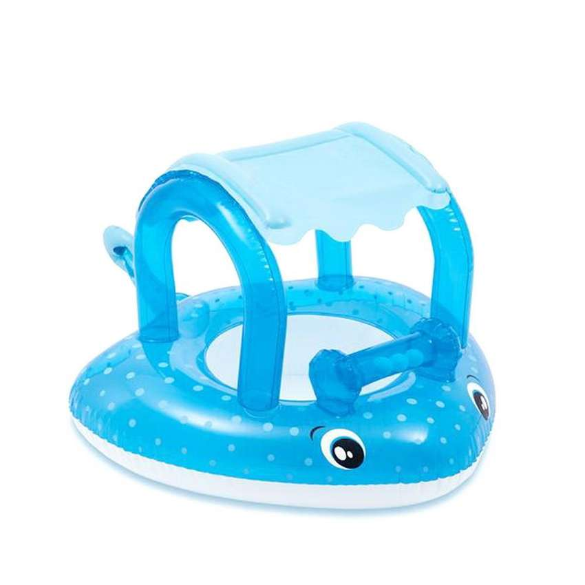 Flotador Con Techo Para Bebé Intex 56589 Juguete Piscina 0