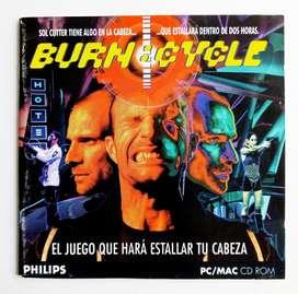 Burn Cycle - PC-MAC-Macintosh