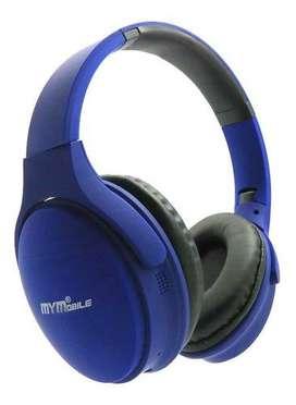 Audifonos Diadema Inalambrica Bluetooth Mymobile Qc35 Sd