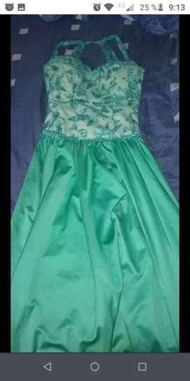 vestido de recepción
