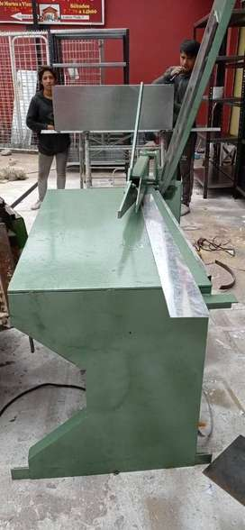 Dobladora, cizalla (Cortadora) para tool cap. max. 2mm excelentes acabados. CLIENTE SATISFECHO ‼️