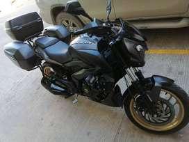 Moto Bajaj, unico dueño, version Full, exploradoras, Alforjas originales shad, kit de arrastre nuevo
