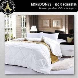 EDREDONES UNICOLOR