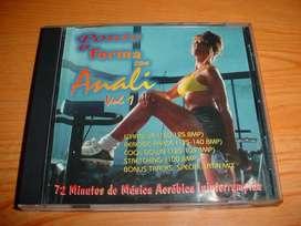 Cd Ponte En Forma Con Analí Vol. 1 Aeróbicos Gym Full Body