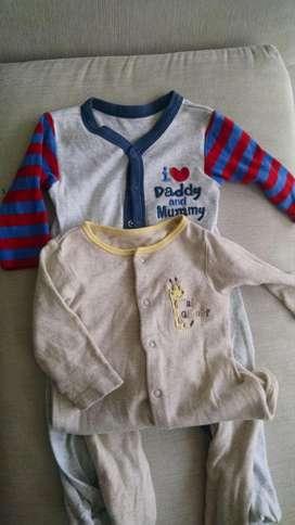 Pijamas enterizas de Bebé Mothercare