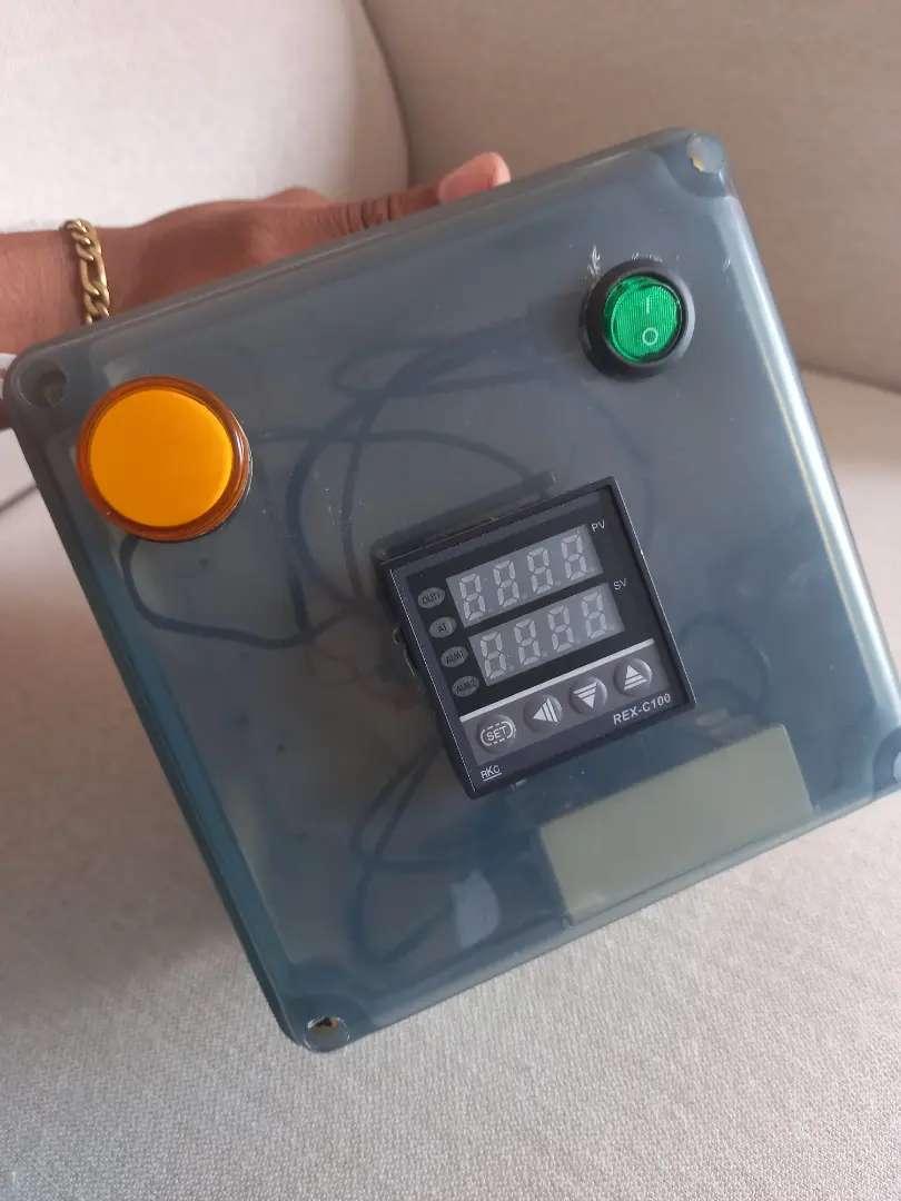 Control de temperatura rex c-100 con rele de estado sólido listo para usar
