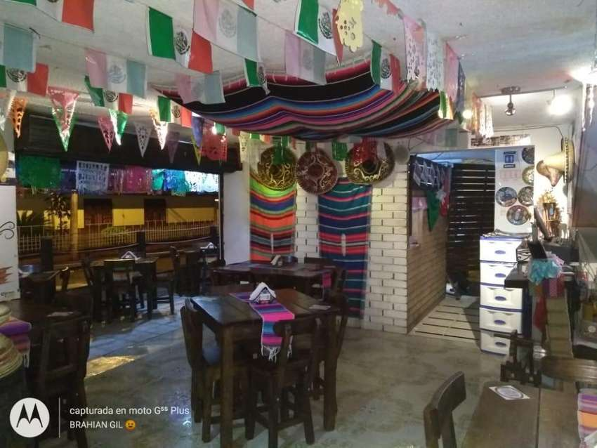 Se Vende Restaurante Mexicano Acreditado 0