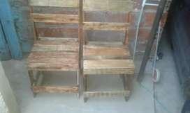 Sillas de maderas