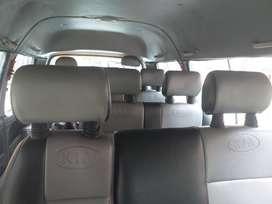 camioneta kia pregio 19 pasajeros modelo 2001