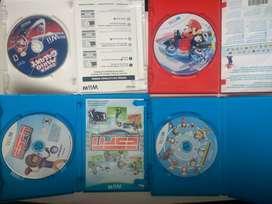 Juegos originales Nintendo Wii U