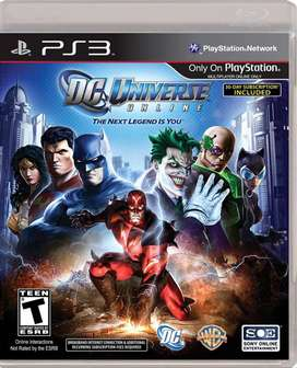 Ps3 Dc Universe On Line