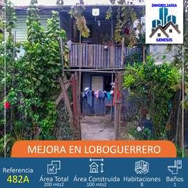 Ref 482a Vendo mejora en Loboguerrero