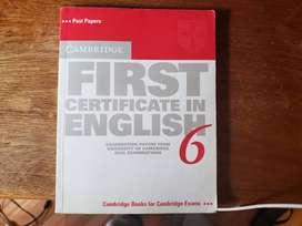 Libro Cambridge First Certificate In English 6