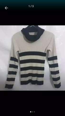 Sweter Suéter Polera de Mujer M