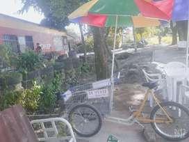 exelente triciclo listo para trabajar.