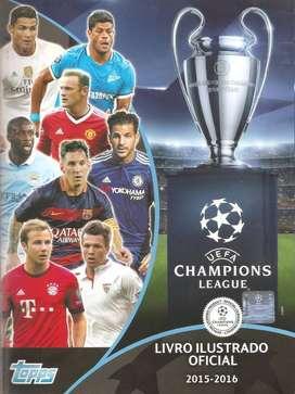 LÁMINAS SUELTAS ÁLBUM CHAMPIONS LEAGUE UEFA 2015-2016 (EDITORA TOPPS)