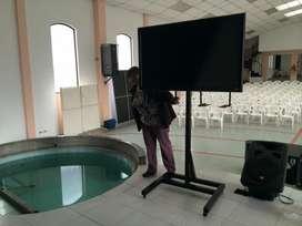 Soportes multisoportes para tv. led lcd plasma proyectores unicos con instlación incluida