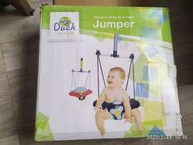 Jumper avion saltarin hamaca Duck