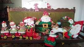 cojines de adorno navideño