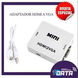 ADAPTADOR / CONVERTIDOR HDMI A VGA