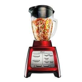 Oster Licuadora Procesadora Alimentos 600w 7 Vel. Color Rojo
