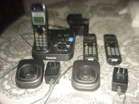 Telefonos Panasonic Trio Modelo Kx-tg9331 Completo No Envio