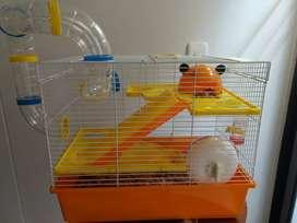 Jaula  gigante para hamster