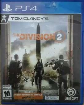 Se vende juego ps4 THE DIVISION 2