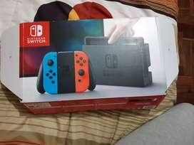 Nintendo Switch caja accesorios más 22 juegos