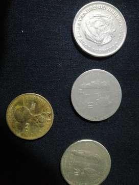 Monedas colombianas antiguas