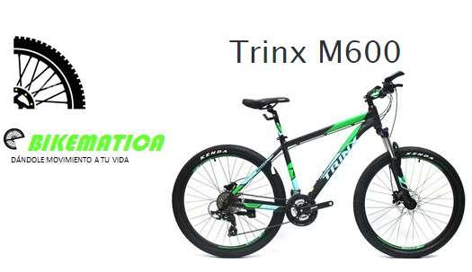Bicicleta Trinx M600 0