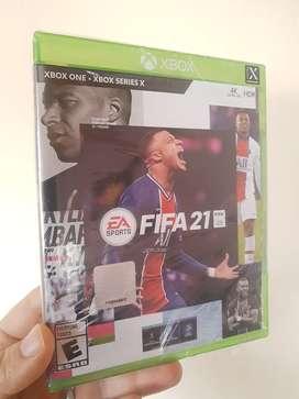 FIFA 21 Xbox one / series x físico nuevo sellado